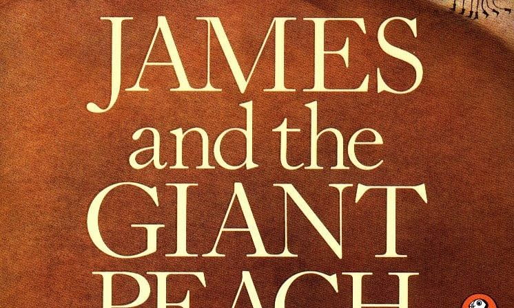 Book review: James and the Giant Peach By Roald Dahl