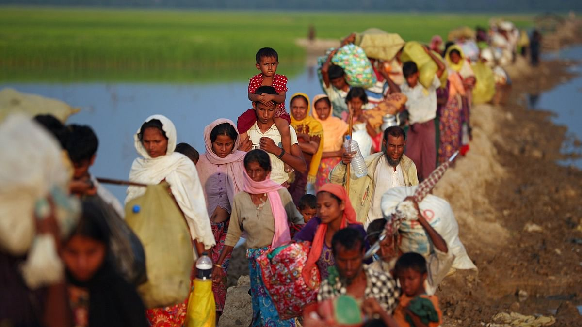 Several dead as fire guts Rohingya refugee camp in Bangladesh