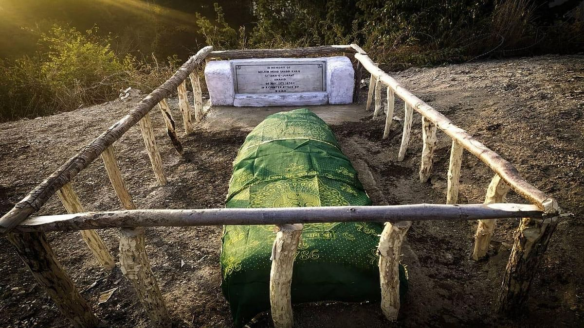 As a mark of respect to 'fallen soldier', Indian army resuscitates grave of Pakistani officer