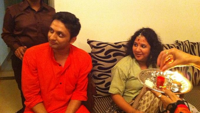 Tanishq ad controversy: Actor Zeeshan Ayyub's wife Rasika shares baby shower pic