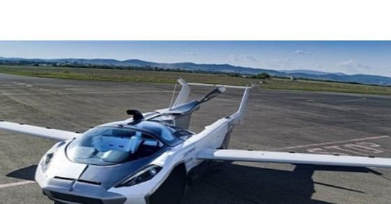 Future is here now: World's first flying car cleared for take-off
