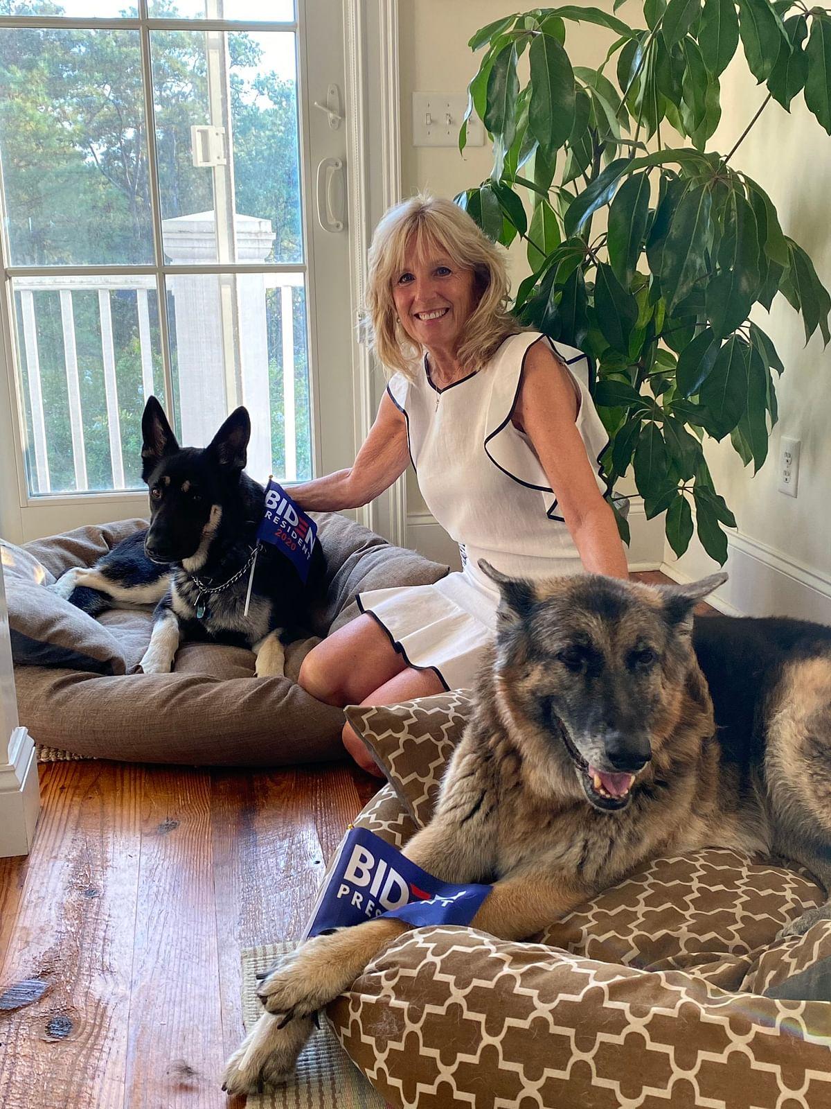 Biden's German Shepherd Champ dies; President, first lady pay tribute