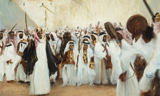 Bahrain's history perfectly brushed on the canvas