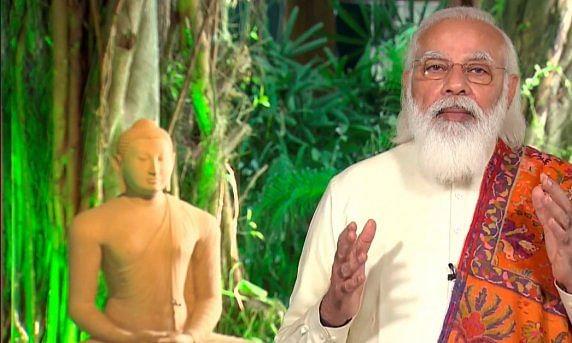 PM Modi proposes library for traditional Buddhist literature in India