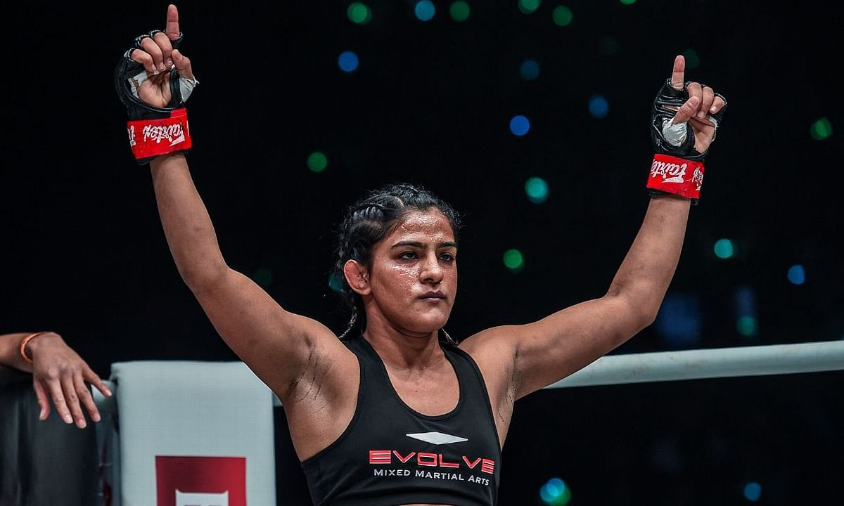 Ritu Phogat remains undefeated, wins her fourth MMA bout on the trot