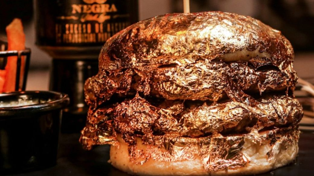 Restaurant sells 24-karat gold-layered burgers for ₹4,300 in Colombia