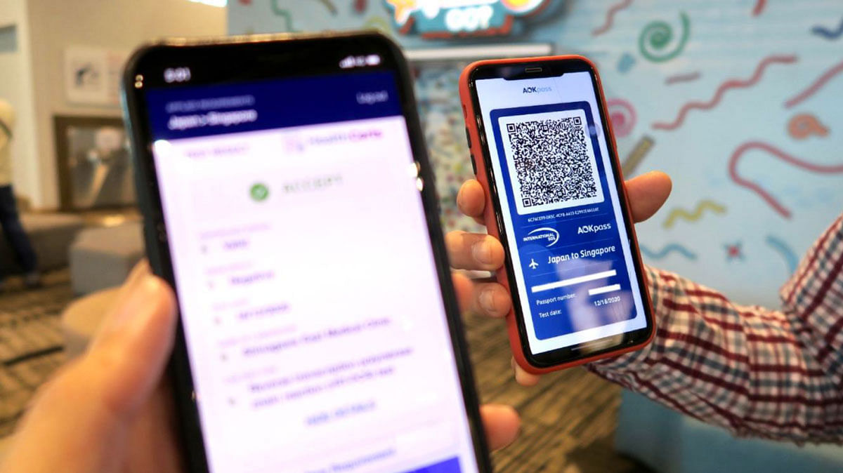 Singaporean citizen first to use digital Covid-19 health certificate to cross international border