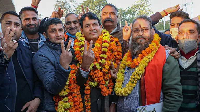 BJP emerges as single-largest party in J&K DDC polls, NC wins 67 seats, PDP 27