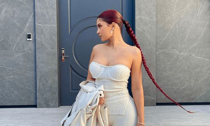 Kylie Jenner wore this Dubai-based designer for the final filming of KUWTK