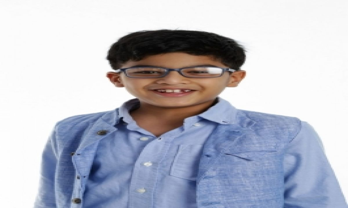 8 YO Indian boy bags a spot in Johns Hopkins 'brightest students in the world' list