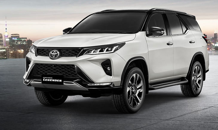 Here is the majestic Toyota Fortuner Legender ahead of India launch