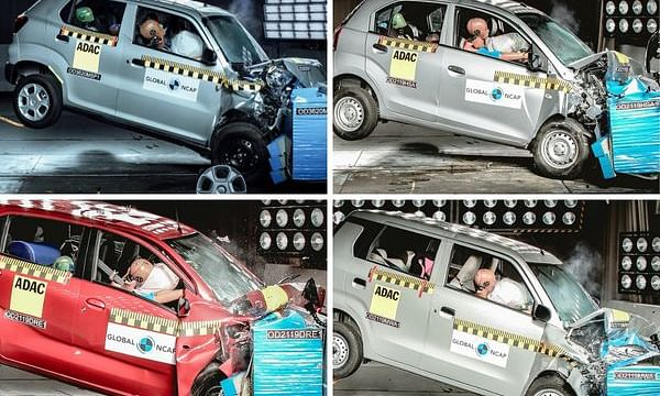 Maruti Suzuki S-Presso, Hyundai Santro, and more: Five cars with lowest Global NCAP safety ratings