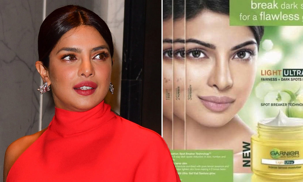 Priyanka regrets endorsing fairness creams, says she believed black skin was not pretty