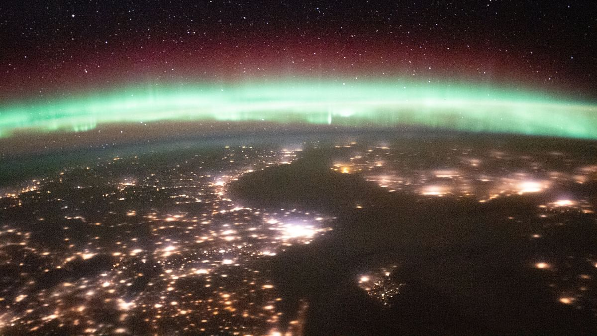 NASA shares breathtaking images of aurora above Earth's horizon