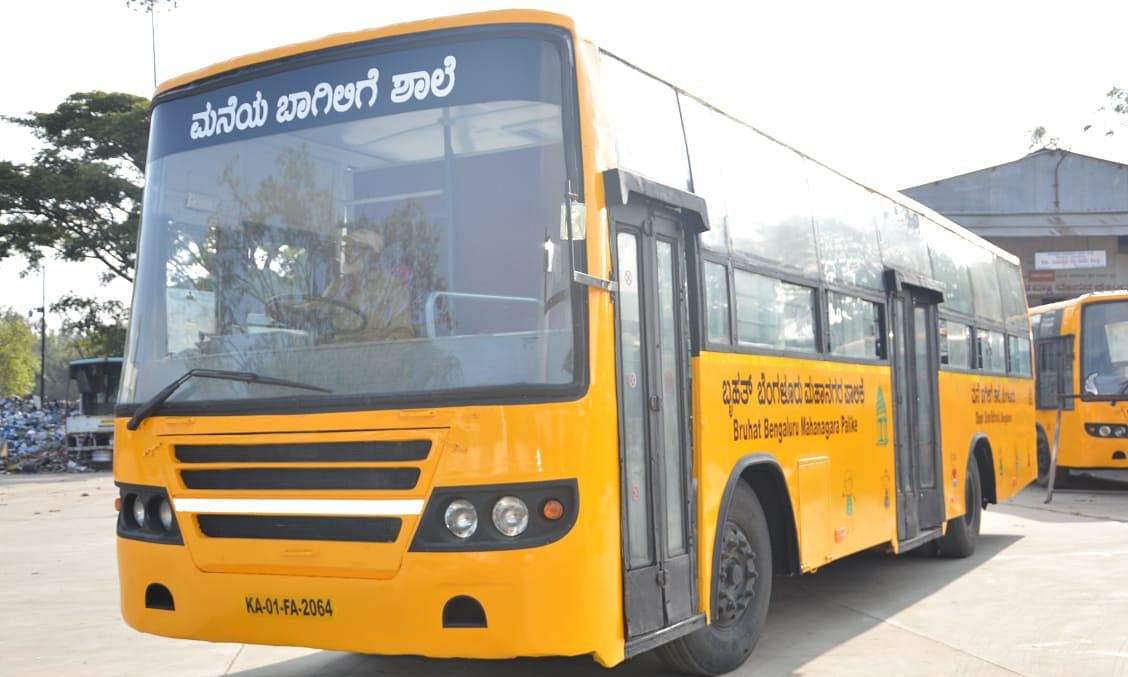 Knowledge on wheels: BBMP to turn buses into schools