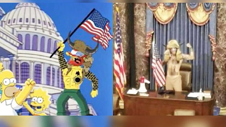 American TV series 'The Simpsons' had forecast the Capitol Hill riots nearly 25 years ago