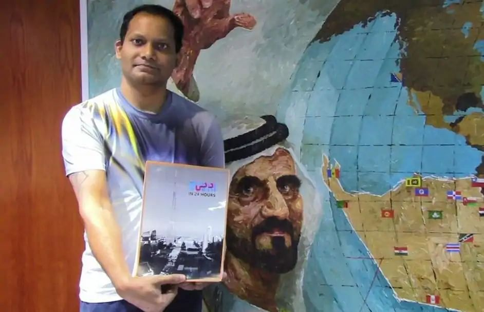 Dubai-based artist Sacha Jafri's 'Largest Art Canvas' to raise Dhs110m for virus-hit kids and youth