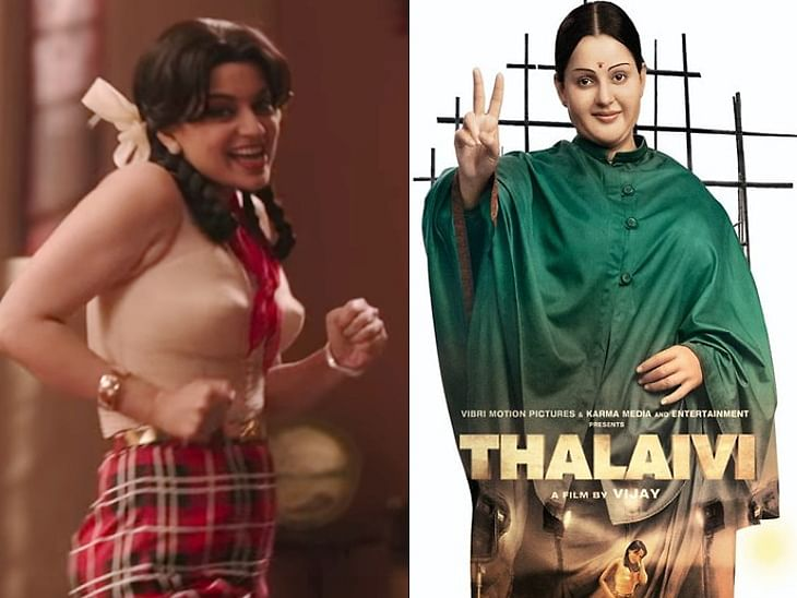 Kangana shares new pics of her 20-kg transformation for Jayalalithaa's biopic
