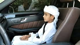 Dhs5,400 fine for allowing a child under 10 in front seat of a car in Abu Dhabi