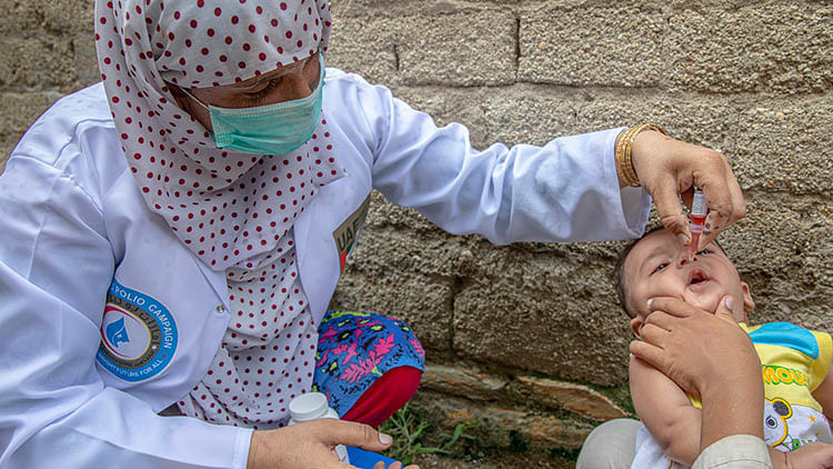 UAE administers over 500m doses of polio vaccine to over 86m children in Pakistan