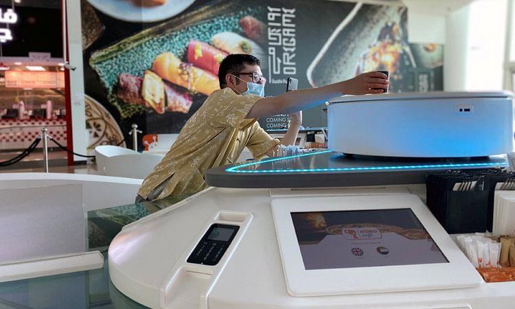 Social distancing no more a concern for customers at Dubai's RoboCafe