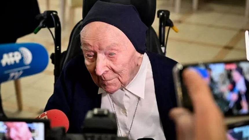 World's second-oldest person survives COVID-19 just before 117th birthday