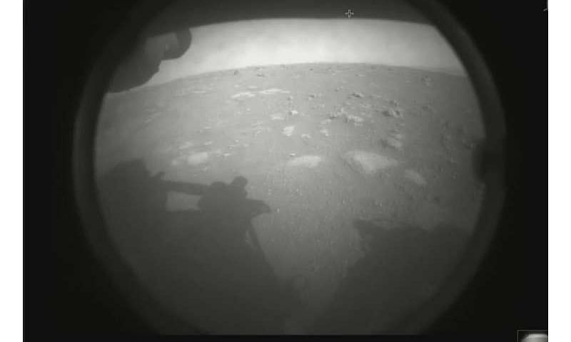 NASA rover lands on Mars to look for ancient life signs