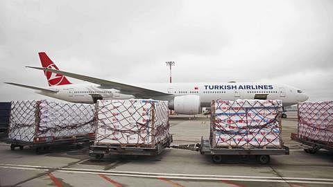 Sharjah Airport clarifies smoke from engine was from Turkish cargo plane