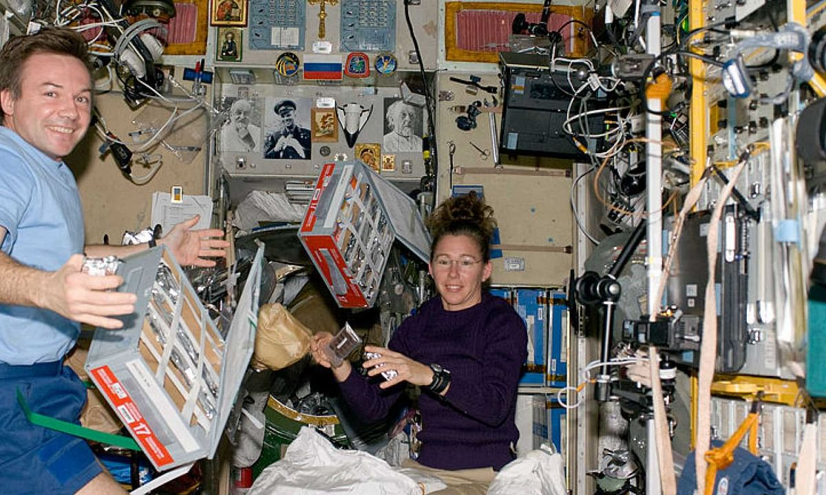 What and how do astronauts eat in space?