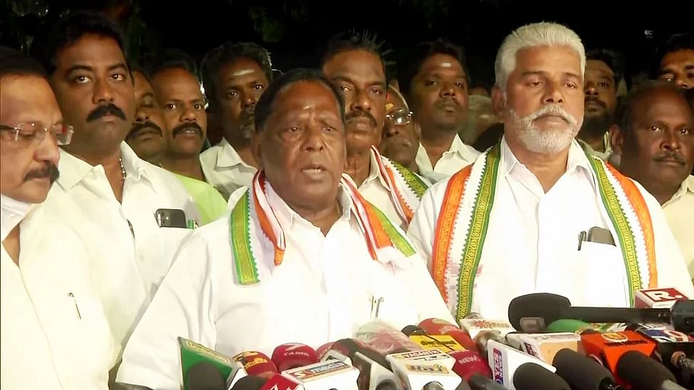 Puducherry floor test today: How do numbers stack up against V Narayanasamy?