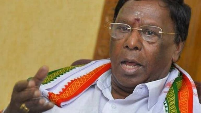 Puducherry Congress-DMK govt falls; Narayanasamy, ruling MLAs quit