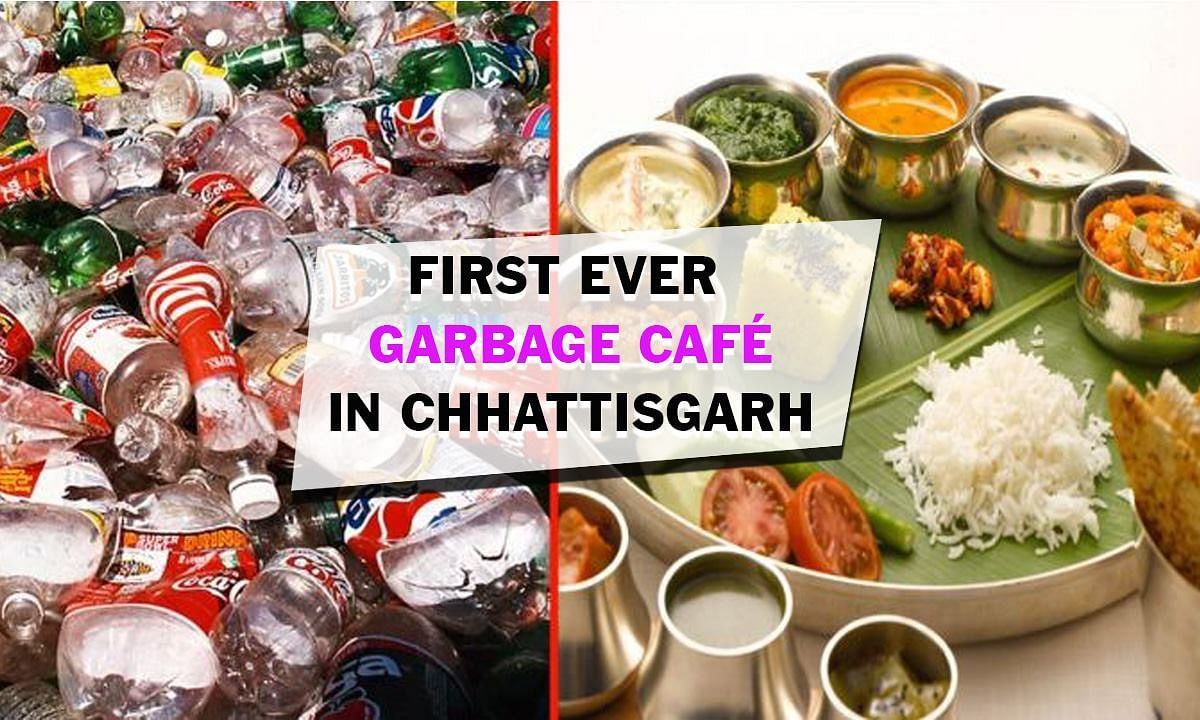 Free food in exchange for plastic waste: Welcome to India's first garbage cafe in Chhattisgarh