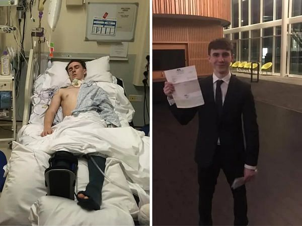 Teenager declared brain dead miraculously revives just before his organs were set to be removed for donation