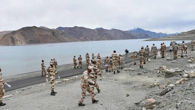 Satellite images show complete Chinese pullback from Pangong Tso in eastern Ladakh