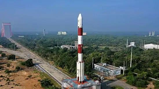 PSLV-C51 with Bhagavad Gita, PM Modi's pic launched from Sriharikota