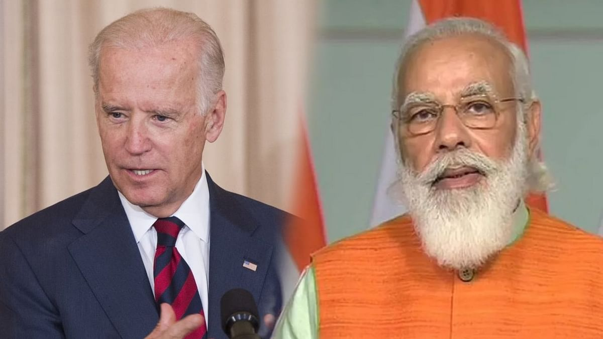 """PM Modi and Biden pledged to """"stand together against the scourge of global terrorism."""""""