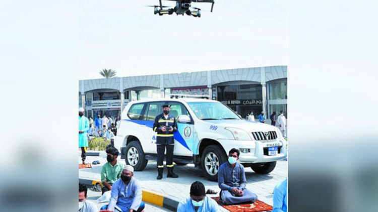 Sharjah launches massive awareness campaign using drones to fight COVID-19 outbreak