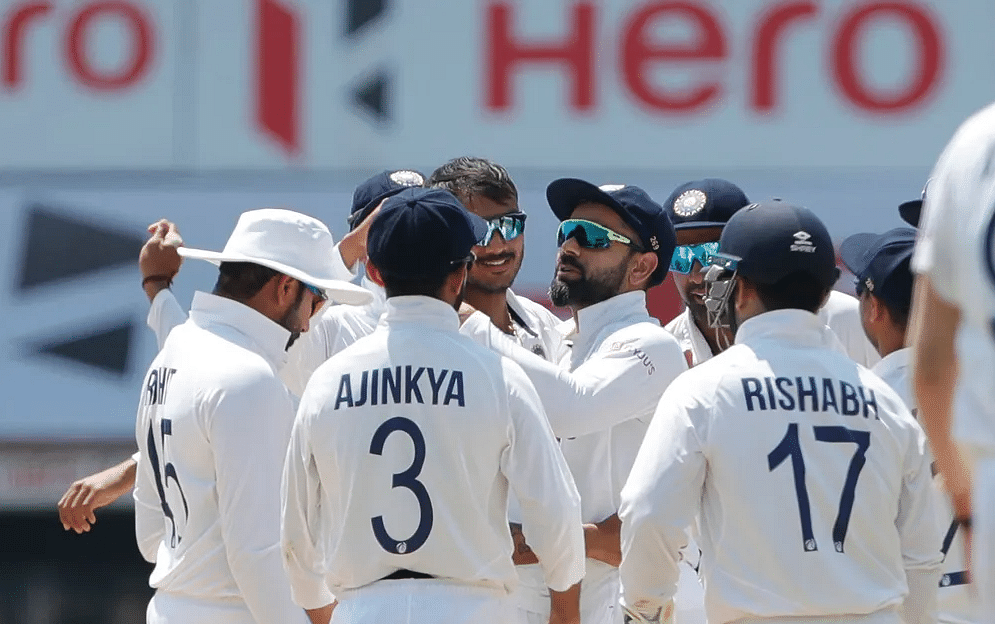 Axar Patel strikes again; England bundled out for 112