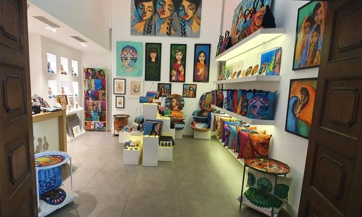 Art gallery showcases country's culture, talent at Bahrain International Airport