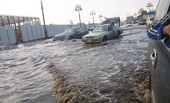 UAE witnesses rainfall across regions under overcast skies