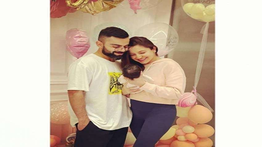 Kohli dedicates his fifty to daughter Vamika with 'cradle celebration', pics go viral