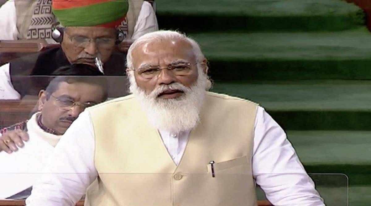 Farm laws| PM Modi in Parliament: They are 'optional, not compulsory'