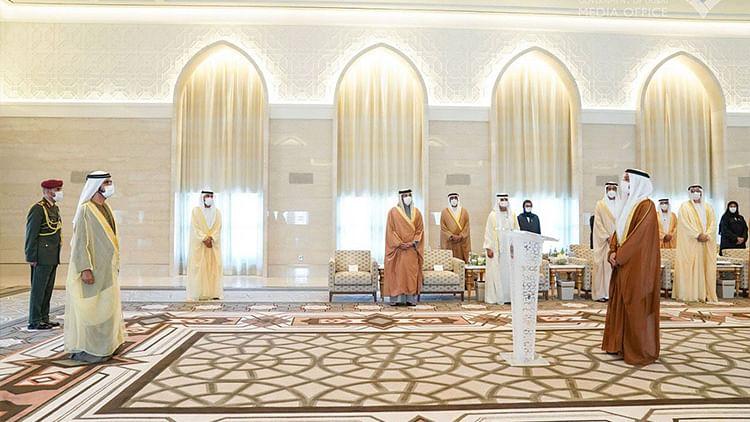 Sheikh Mohammed swears in UAE Ambassador to Israel