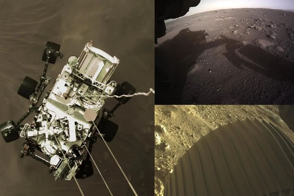NASA shares first video and audio, new images from Mars