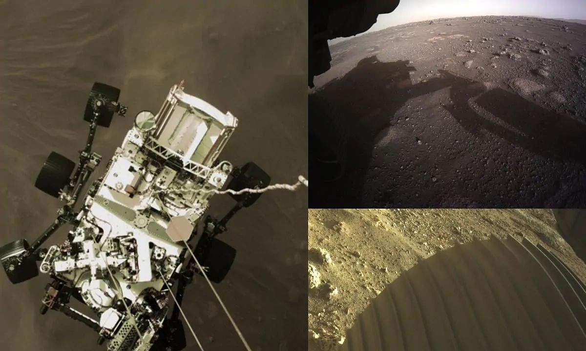 NASA's Perseverance rover sends first colour images of Mars, a selfie too
