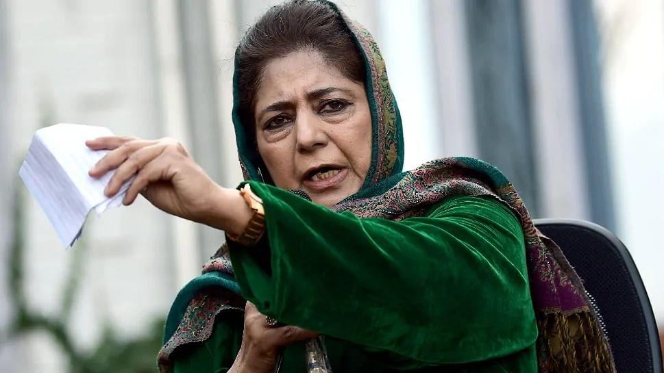 Mehbooba says she's under house arrest, alleges 'reign of terror' in Kashmir