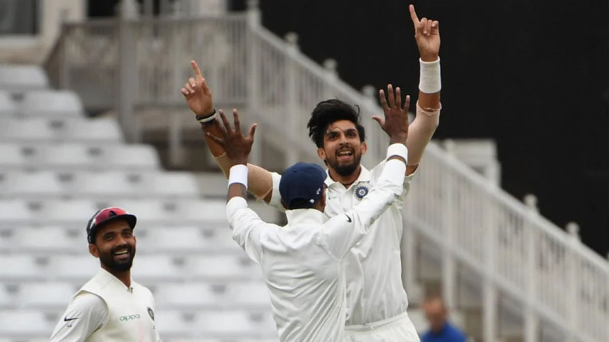 Ishant becomes the third Indian pacer to set the record of 300 Test wickets