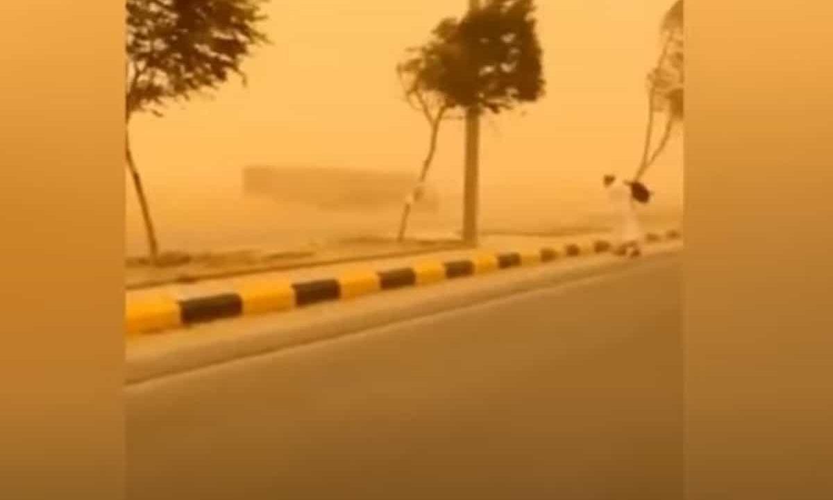 Saudi Arabia: Sandstorm hits several parts of the Kingdom