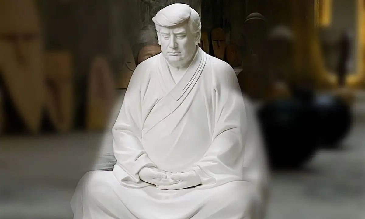 Donald Trump's 'Buddha Statues' start trending online, being sold for over Rs 44,000 on E-commerce site