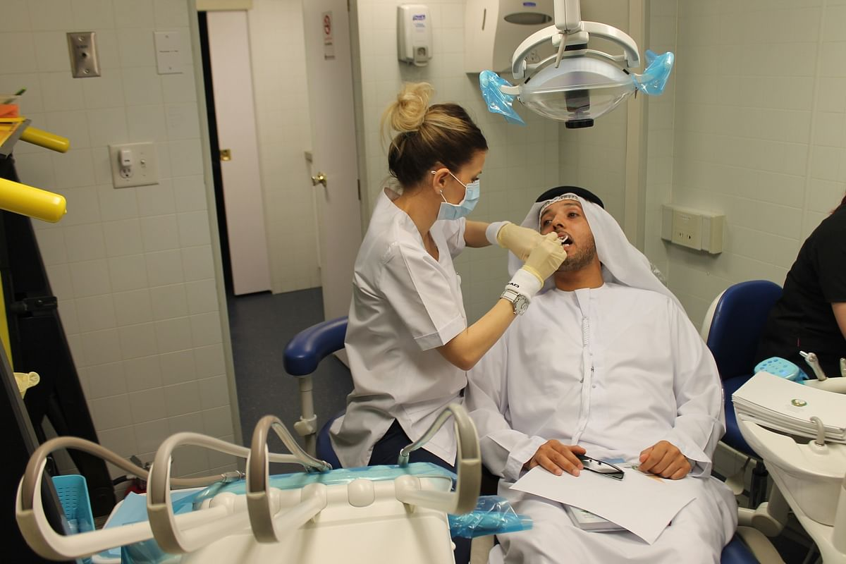 'We reach you for your health'; Ajman launches free PCR tests at home